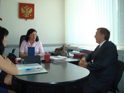 Уполномоченный по правам человека в КЧР З.Н. Умалатова провела выездной прием граждан в Зеленчукском районе