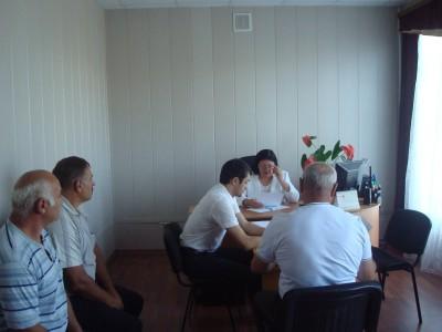 Уполномоченный по правам человека в КЧР Умалатова З.Н.  провела личный прием граждан в Прикубанском муниципальном районе