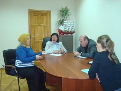 В г. Карачаевске Уполномоченный по правам человека в КЧР Умалатова З.Н. провела выездной прием граждан