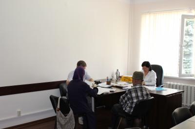 Уполномоченный по правам человека в КЧР З.Н. Умалатова провела личный прием граждан в Усть-Джегутинском муниципальном районе