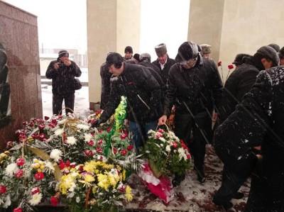 Аппарат Уполномоченного по правам человека в КЧР принял участие в траурном митинге, прошедшем в городе Карачаевске