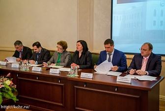 Уполномоченный по правам человека Зарема  Умалатова приняла участие в заседании Координационного совещания по обеспечению правопорядка в Карачаево-Черкесской Республике.