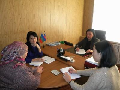 В здании администрации в а. Инжич-Чукун Абазинского муниципального района Уполномоченным по правам человека в Карачаево-Черкесской Республике проведён выездной личный приём граждан.